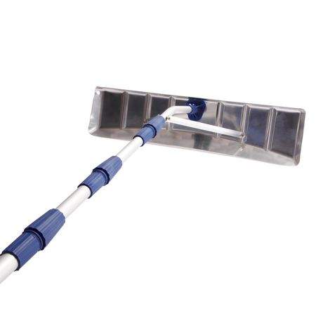 Grattoirs /à Glace Durables pour Pare-Brise De Voiture Grattoir /à Neige Multifonctionnel Et /évolutif avec Brosse Grattoir /à Glace YPEZ Lave vitre telescopique