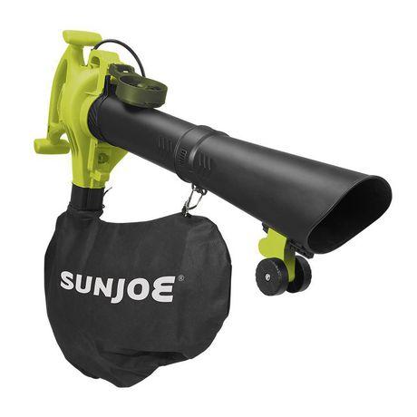 Sun Joe SBJ605E 3-in-1 Electric Blower | 250 MPH | 14 Amp | Vacuum | Mulcher - image 3 of 9