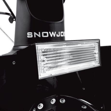 Snow Joe SJ621 Electric Single Stage Snow Thrower | 18-Inch | 13.5 Amp Motor | Headlights - image 7 of 9