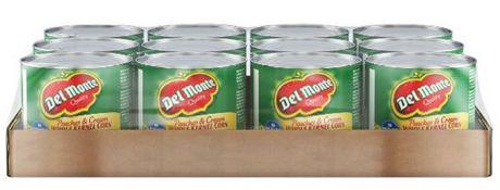 Del Monte maïs Pêches et crème coffret - image 1 de 2