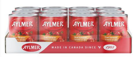 Tomates d'Aylmer en dés - coffret - image 1 de 2