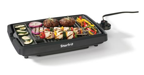 Starfrit The Rock Indoor Smokeless Grill Walmart Canada