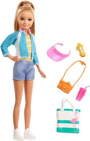 Barbie Travel Stacie Doll and Accessories Set - image 1 of 5