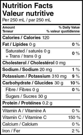 SunRype Unsweetened 100% Pure Apple Juice - image 3 of 3