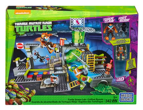 Ensemble de jeu les tortues ninja de mega bloks repaire - Voiture des tortues ninja ...