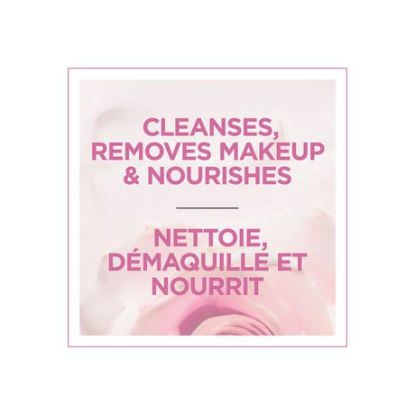 L'Oréal Paris Fine Flowers Cleansing Milk, with Rose & Jasmine Flower Extracts, 400 ml - image 3 of 7