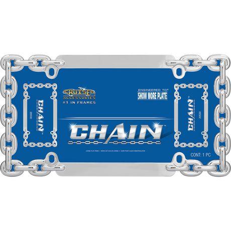 Chrome Cruiser Accessories 20530 Chain License Plate Frame