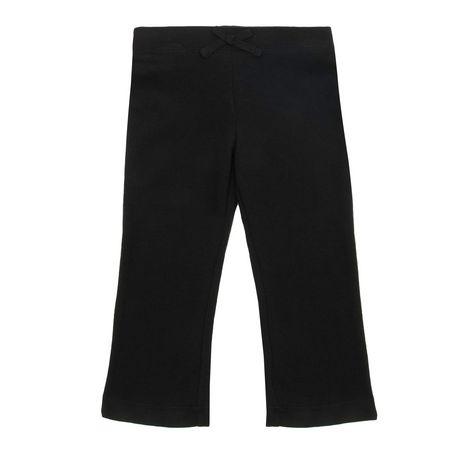George Opp Girls' Fleece Pants - Black - image 1 of 1