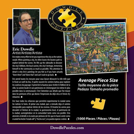 Dowdle Americana Art Valley of The Sun Jigsaw Puzzle - image 2 of 3