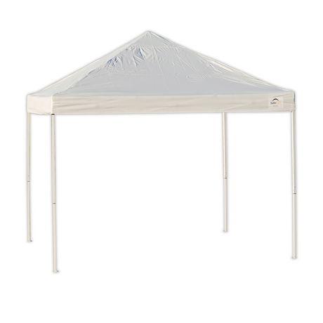ShelterLogic Pro 10 x 10 White Straight Leg Pop-Up Canopy | Walmart Canada  sc 1 st  Walmart Canada & ShelterLogic Pro 10 x 10 White Straight Leg Pop-Up Canopy ...