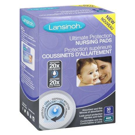 Coussinets d'allaitement jetables Lansinoh de la protection supérieure | Walmart Canada