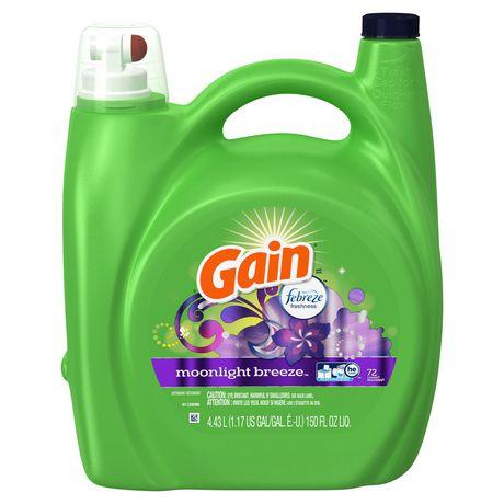 Gain Liquid Laundry Detergent, Moonlight Breeze - image 8 of 8