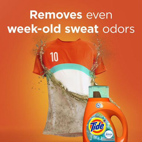 Tide plus Febreze Freshness Botanical Rain HE Turbo Clean Liquid Laundry Detergent - image 7 of 9