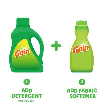 Gain Liquid Fabric Softener, Original - image 5 of 8