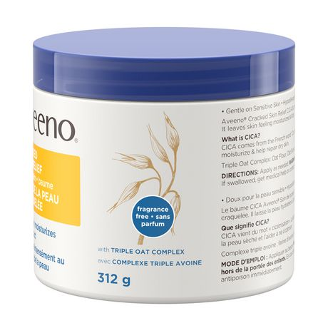 Aveeno Cracked Skin Relief Moisturizing CICA Balm - image 8 of 9