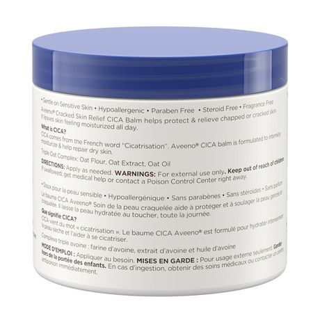 Aveeno Cracked Skin Relief Moisturizing CICA Balm - image 6 of 9