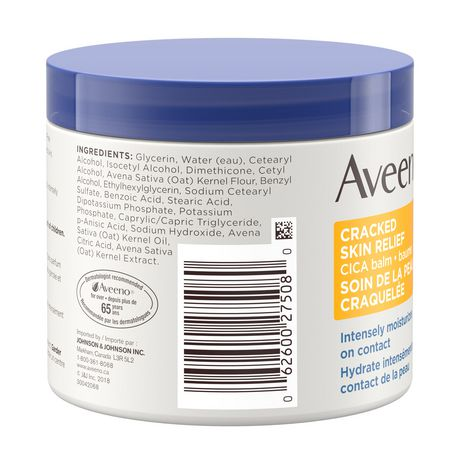 Aveeno Cracked Skin Relief Moisturizing CICA Balm - image 3 of 9
