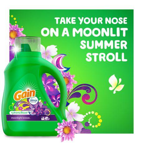 Gain Liquid Laundry Detergent, Moonlight Breeze - image 4 of 8
