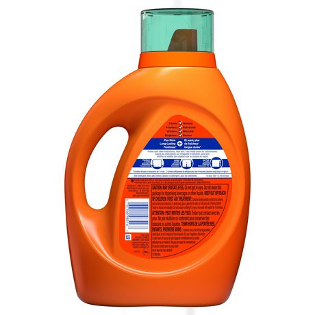 Tide plus Febreze Freshness Botanical Rain HE Turbo Clean Liquid Laundry Detergent - image 2 of 9