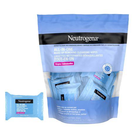 Neutrogena Makeup Remover Wipes Singles - image 1 of 9