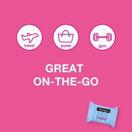 Neutrogena Makeup Remover Wipes Singles - image 8 of 9