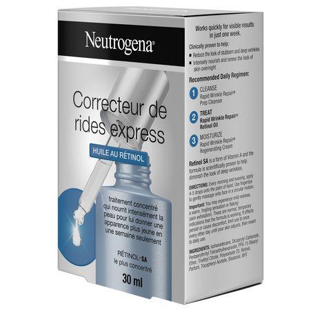 Neutrogena Huile au rétinol Visage, 30 ml - image 9 de 9