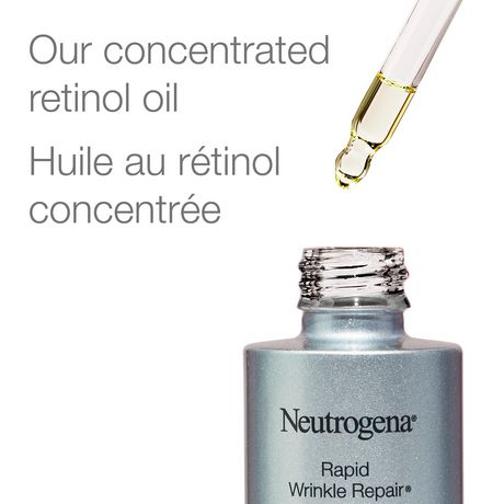 Neutrogena Huile au rétinol Visage, 30 ml - image 5 de 9