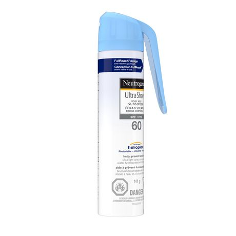 Neutrogena Ultra Sheer Sunscreen Spray SPF 60 - image 2 of 8