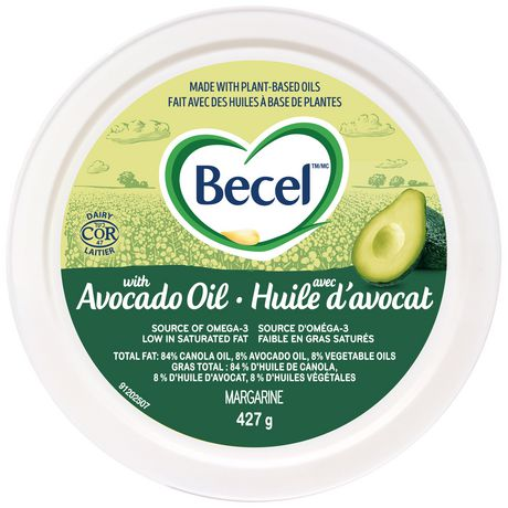 Becel Margarine Blend with Avocado Oil 427g - image 2 of 5