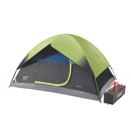 Coleman 4-Person Dark Room Sundome Tent - image 3 of 4