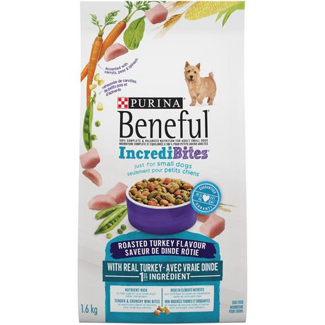 Beneful IncrediBites Dry Dog Food for Small Dogs; Roasted Turkey Flavour - image 2 of 5