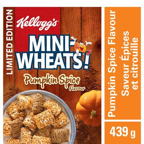 Kellogg's Mini-Wheats Pumpkin Spice Cereal - image 1 of 4