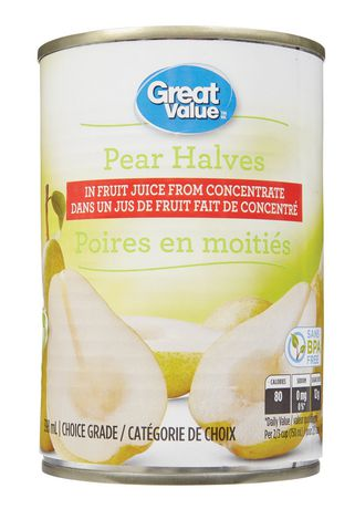 Great Value Pear Halves - image 1 of 2