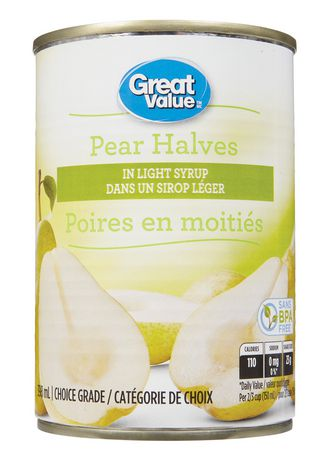Great Value Pear Halves in Light Syrup - image 1 of 2