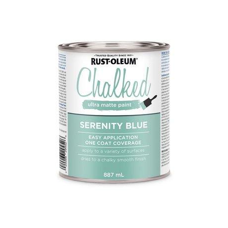 Rust Oleum Specialty Serenity Blue Chalked Ultra Matte Paint Walmart Canada