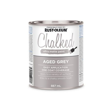 Rust Oleum Specialty Aged Grey Chalked Paint Walmart Canada