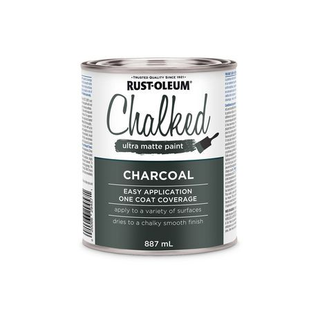 Rust Oleum Specialty Charcoal Chalked Ultra Matte Paint Walmart Canada