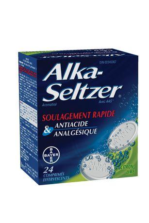 Bayer Healthcare Consumer Care Alka-Seltzer® Lemon-Lime Tablets 24's - image 2 of 2