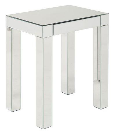 Table D Appoint Argent.Table D Appoint En Fini Miroir Reflections D Avenue Six Argent