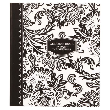 markings by c r gibson 3 ring bound address book walmart canada