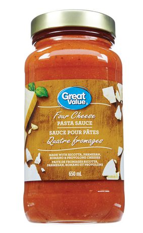Great Value Four Cheese Pasta Sauce - image 1 of 2