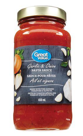 Great Value Garlic & Onion Pasta Sauce - image 1 of 2