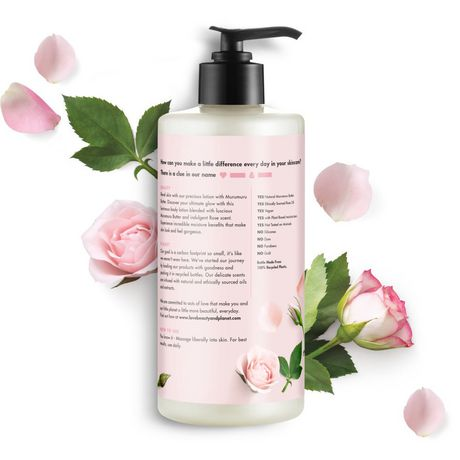 Love Beauty And Planet Muru Muru Butter & Rose Oil Body Lotion 400 ML - image 5 of 8