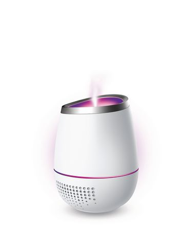 Mogu Aromatherapy Ultrasonic Diffuser with Bluetooth Speaker - image 1 of 4