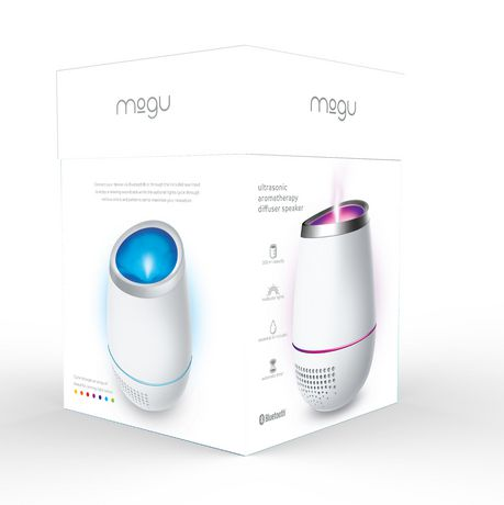 Mogu Aromatherapy Ultrasonic Diffuser with Bluetooth Speaker - image 3 of 4