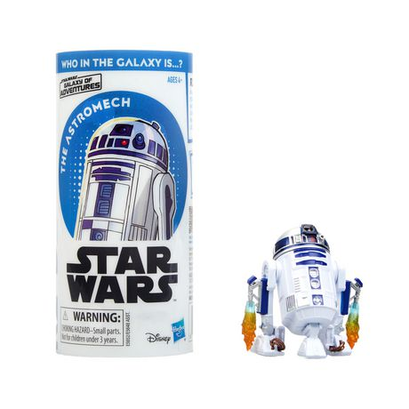 Star Wars Galaxy of Adventures R2-D2 Figure and Mini Comic (French) - image 3 of 4