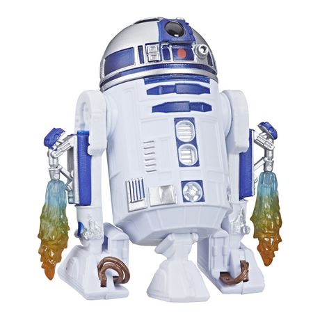 Star Wars Galaxy of Adventures R2-D2 Figure and Mini Comic (French) - image 2 of 4