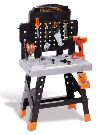 black and decker mega power n play workbench