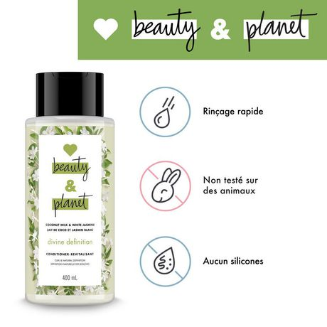 Love Beauty And Planet Coconut Milk with Jasmine Divine Definition Conditioner 400 ML - image 6 of 9