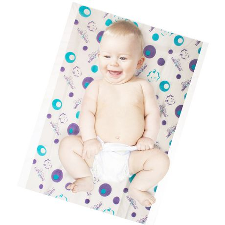 Piqués jetables Baby Works pour changement de couche - image 2 de 5